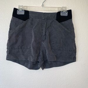 Lush shorts black and gray size S